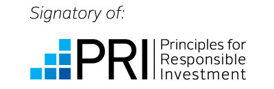 Signatory of PRI Principles for Responsible Investment